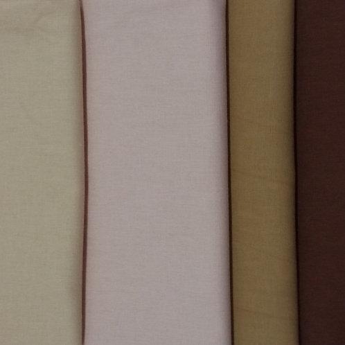 Kit algodão pele 6 cores