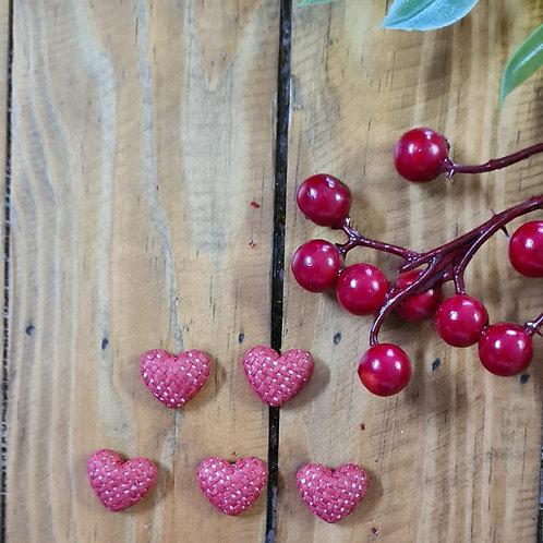 Coração Vermelho  - encapado