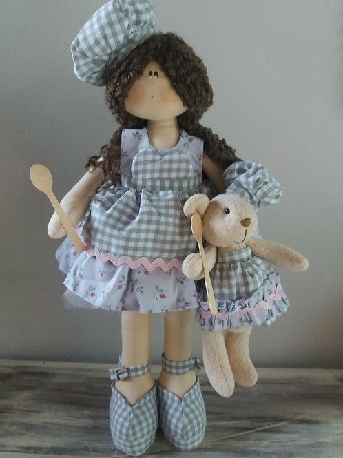 Apostila Digital Boneca Paola e sua Ursinha