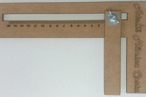Regua para Cabelo 15 cm
