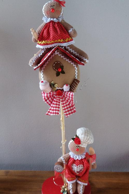 Apostila digital torre de biscoitinho de natal