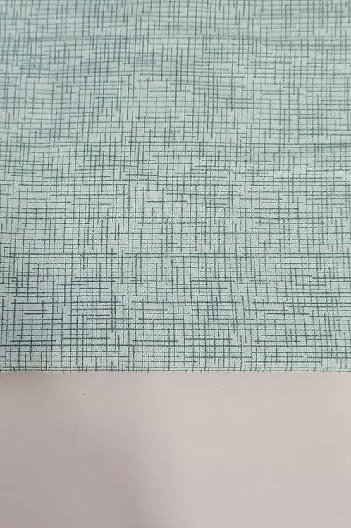 Tecido Textura Verde Água