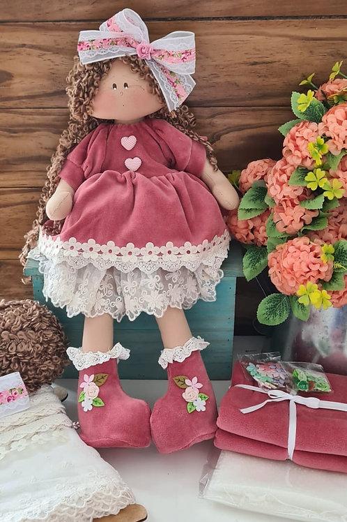 kit boneca Vida Versão persa