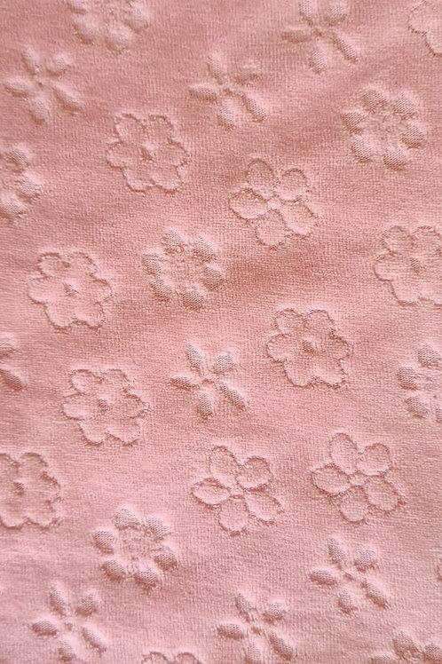 Plush de Flores Rosa Antigo