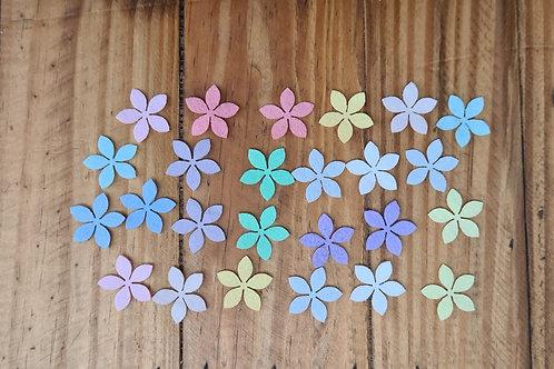 Flores de Feltro 5 pétalas