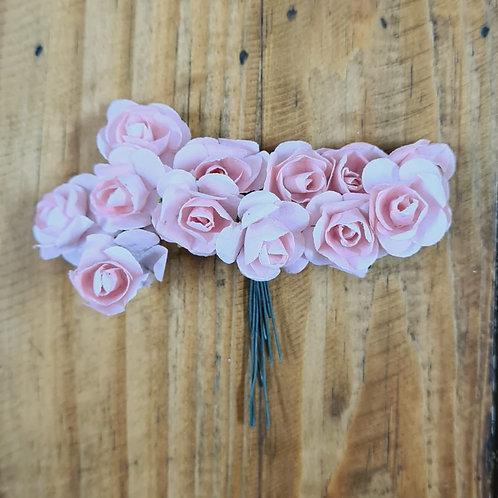 Flor de papel Rosa Encantada