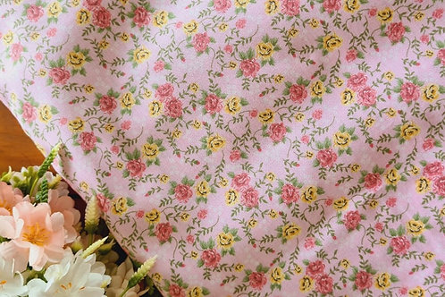 Tecido Rosinhas rose - 13108