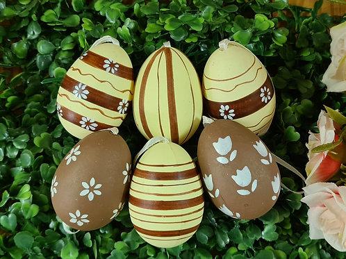 Ovos Decorados chocolate