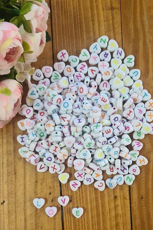 Coração de letras Collor 100 gramas