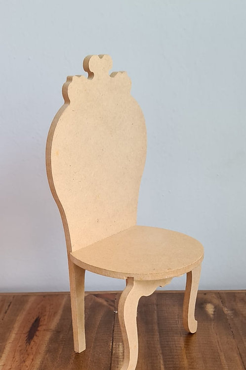 Cadeira Encosto Oval Pequena