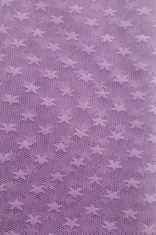 Tule estrela Lilas