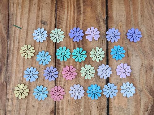 Flores de Feltro 10 pétalas.