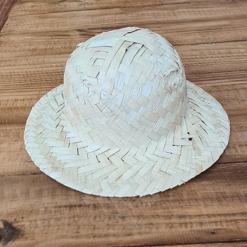 chapéu de palha oval