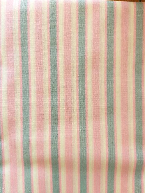 Tecido Listra Rosa Azul