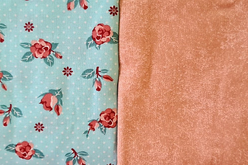 Compose Floral Tiffany + Poeira Rose