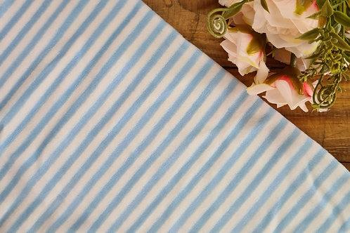 Plush listra média azul bb e branco