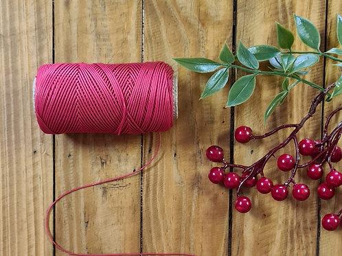 Cordão de algodão Vermelho