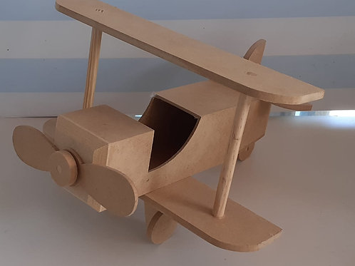 Avião MDF do kit do Aviador