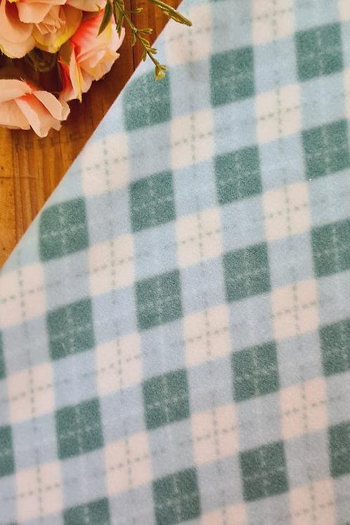 Micro Soft Xadrez Verde