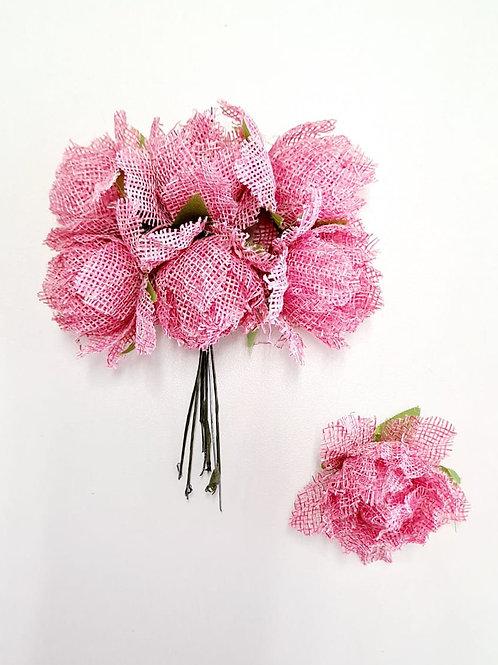 Flor rosa rustica