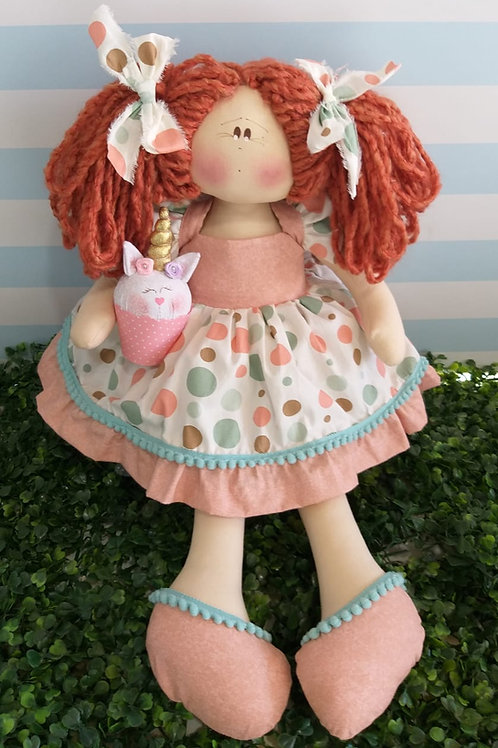Apostila Digital boneca Maria Flor