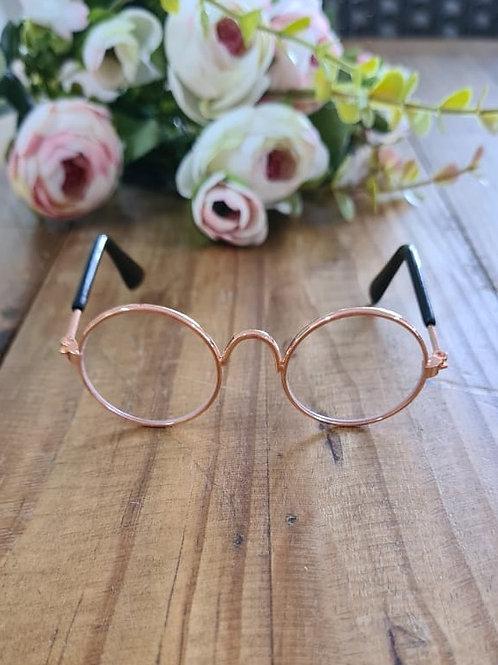 Óculos Boneca Rosa Gold
