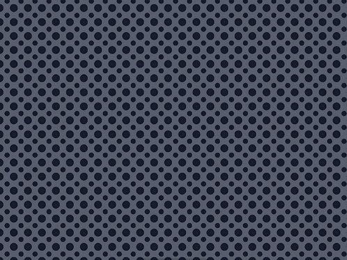 Tecido Poa TonTon  - Azul Escuro