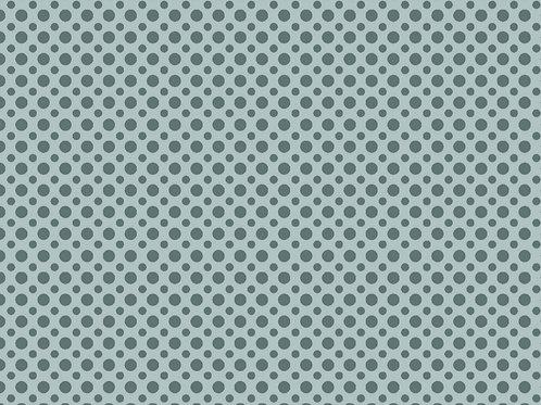 Tecido Poa TonTon  - Azul Suave