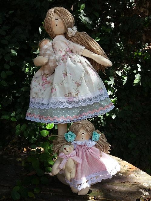 Apostila Digital Boneca Maria e seus Filhos