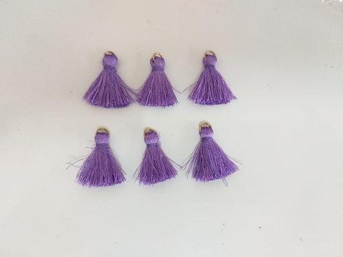 pingente mini lilás