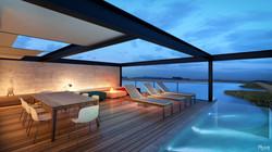 Xangri-la House - Rooftop pool