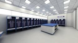 Cruzeiro Arena - Locker room