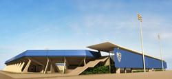 Cruzeiro Arena - Facade