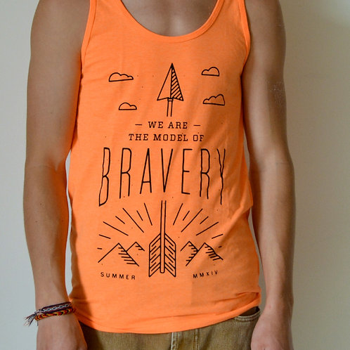 Bravery Orange Tank