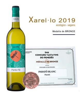 """Medalla Bronce: """"Parató Xarel·lo 2019"""""""