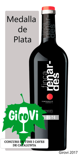 Medalla de Plata en el concurso de vinos y cavas Girovi 2017