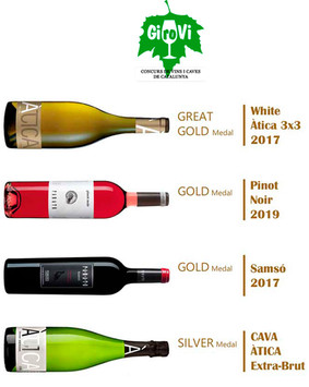 Award winning wines: GIROVI'20