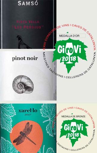 Medalles: Girovi 2018