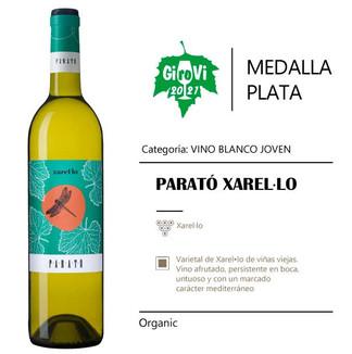 MEDALLA PLATA - XAREL·LO PARATÓ 2020