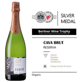 Cava Brut Reserva Medalla de plata en el prestigiós Berliner Wine Trophy 2021