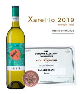 """Medalla Bronze: """"Parató Xarel·lo 2019"""""""