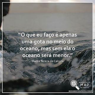 💧 De gota em gota que se forma um ocean