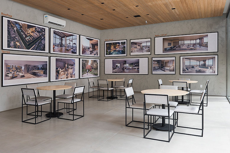 Ensaio Stand imobiliária Triplex Arquitetura Fotos Manu Oristanio