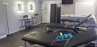 Holistic Therapies Training Academy, Bideford, North Devon offering Sports massage, massage, reflexology, aromatherapy, Personal training, Nails,and beauty VTCT and accredited training courses