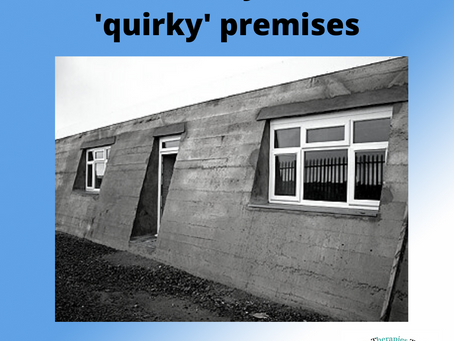 The history of our 'quirky' premises - Bideford, N Devon