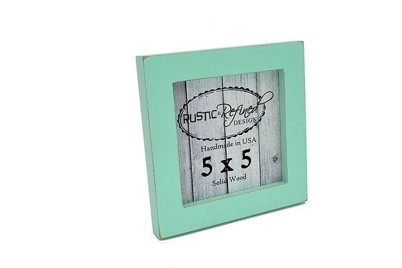 "5x5 1"" Gallery Picture Frame - Sea Foam"