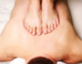 Ashiatsu massage therapy uses the feet instead of the hands through gravity assistance.