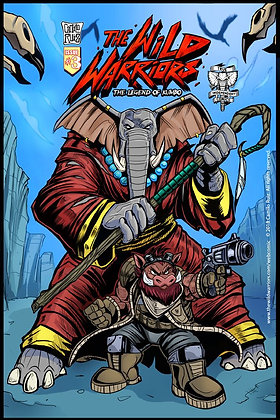 The Wild Warriors Issue 03- DIGITAL DOWNLOAD
