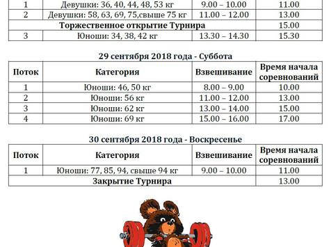 Открытые московские соревнования по тяжёлой атлетике среди юношей и девушек 2001 года рождения и мол