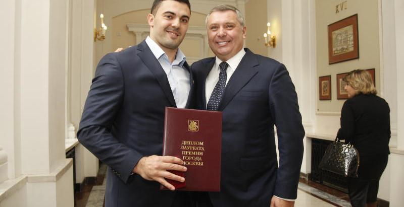 """Дмитрий Берестов в """"Вечерней Москве"""""""